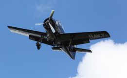 Training plane T28 Trojan Air Bear Royalty Free Stock Photos