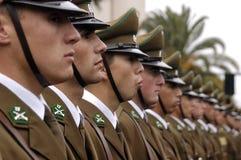 Training of police Stock Photo