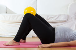 Training during pregnancy Stock Images
