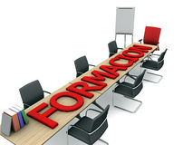 Training room Royalty Free Stock Images