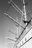 Training ship Gorch Fock Royalty Free Stock Photo