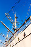 Training ship Gorch Fock Royalty Free Stock Photography