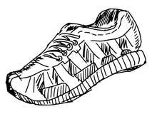 Training shoes Royalty Free Stock Image