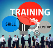Training Skill Develop Ability Expertise Concept Royalty Free Stock Photography