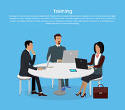 Training Staff Briefing Royalty Free Stock Image