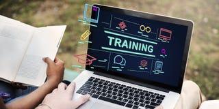 Training Studying Aspiration Coaching Ideas Concept. Business Training Coaching Ideas Concept Royalty Free Stock Image