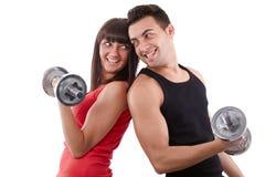 Training together Stock Photo