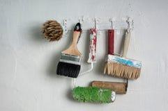 Training tool plasterer - painter Stock Photos