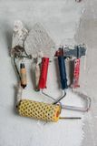 Training tool plasterer - painter Royalty Free Stock Image