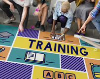 Training Tuition Education Knowledge Learning Concept Stock Photos