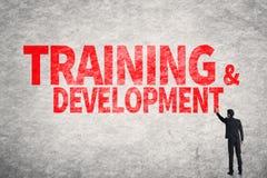 Training u. Entwicklung lizenzfreie stockfotos