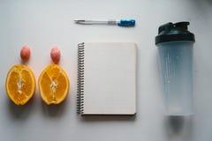 Training und Eignung, Planungssteuerdiätkonzept Stockfoto