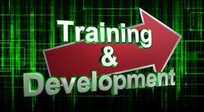 Training und Entwicklung Stockbilder