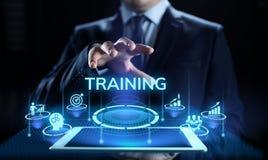 Training webinar Business development education concept on screen. royalty free stock image