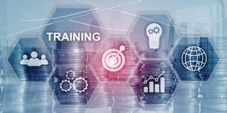 Training Webinar Business Internet Technology Concept. Inscription on virtual screen: TRAINING. Training Webinar Business Internet Technology Concept stock photography