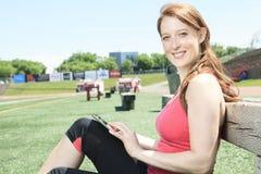 Training woman Stock Photos