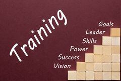 Training Word Concept stock photography