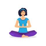 Training yoga woman Stock Photo
