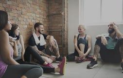 Trainings-Übungs-Eignungs-Gesundheits-Konzept lizenzfreies stockfoto