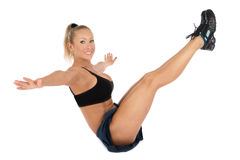 Trainings-ABS Lizenzfreie Stockfotografie