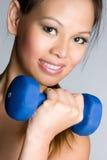 Trainings-Frau lizenzfreie stockbilder
