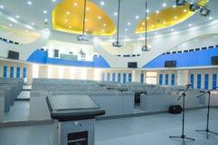 Trainings-Raum Design der Klugheit digitales zukünftiges Stockbild