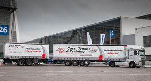 Trainings truck at the 65th IAA Stock Image