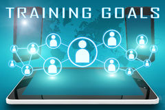 Trainings-Ziele stock abbildung