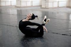 Trainingsballerina, Ausdehnung Lizenzfreie Stockbilder