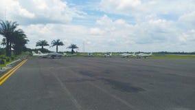 Trainingsflugzeuge Stockbild