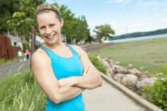 Trainingsfrau Lizenzfreies Stockbild