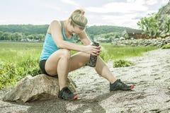 Trainingsfrau Lizenzfreies Stockfoto