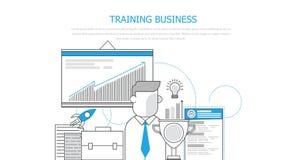 Trainingsgeschäft Lizenzfreie Stockfotos