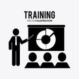 Trainingsikonendesign Stockfotografie