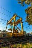 Trainline à Vigo - en Espagne photographie stock