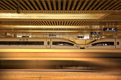 Trains à grande vitesse Image stock