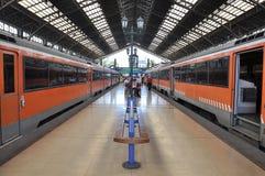 Trains électriques Photographie stock