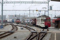 trains Photo stock