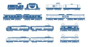 trains Photographie stock libre de droits
