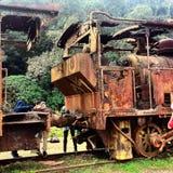 trains Photographie stock