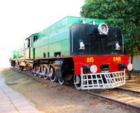 Trains. Old Trains at Museum in New Delhi, India Royalty Free Stock Photography