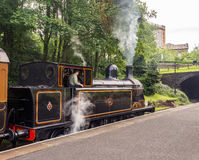 Trains and carriages Stock Images