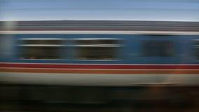 Trains and City (London, England). Trains near London, England. HD 1080 Seamless Loop stock footage