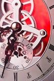 Trains d'horloge Image libre de droits