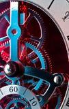 Trains d'horloge Photo libre de droits