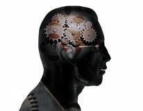 Trains de cerveau images stock