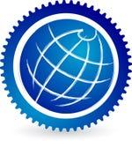 trains de globe Image stock