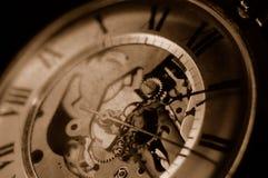 Trains de temps Images libres de droits