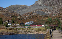 Trains de vapeur Photos libres de droits