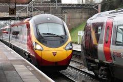 Trains de Vierge Photo libre de droits
